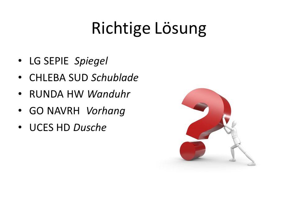 Richtige Lösung LG SEPIE Spiegel CHLEBA SUD Schublade RUNDA HW Wanduhr GO NAVRH Vorhang UCES HD Dusche