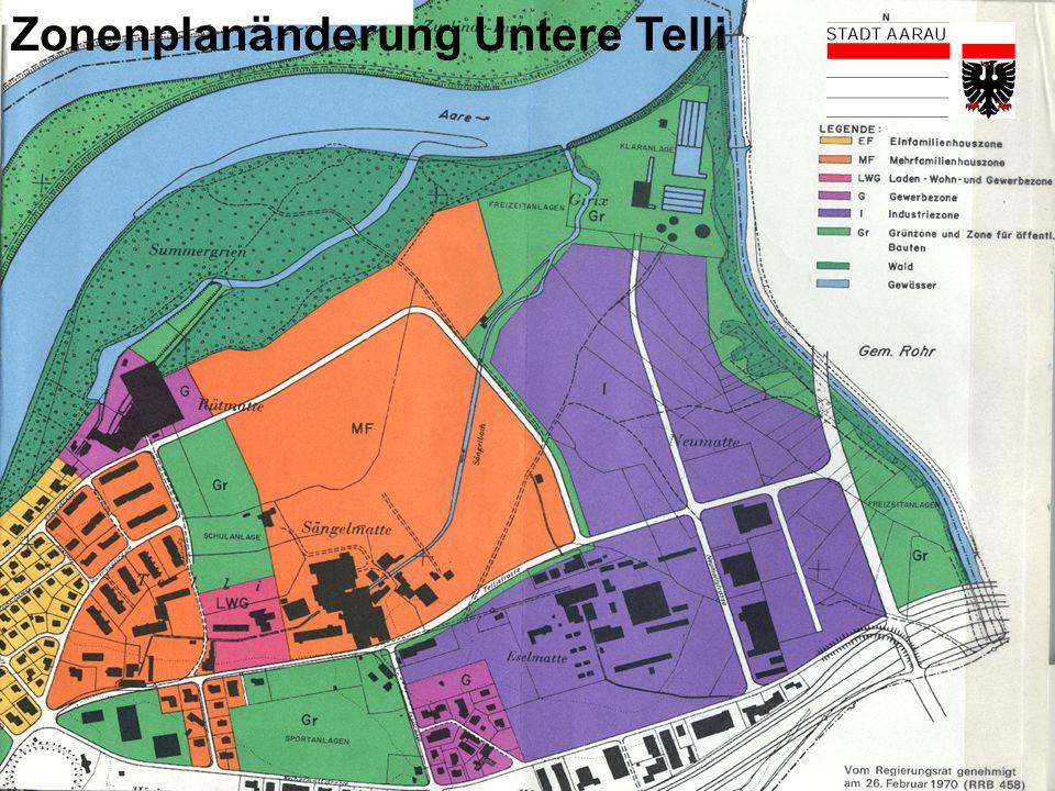 5 Zonenplanänderung Untere Telli