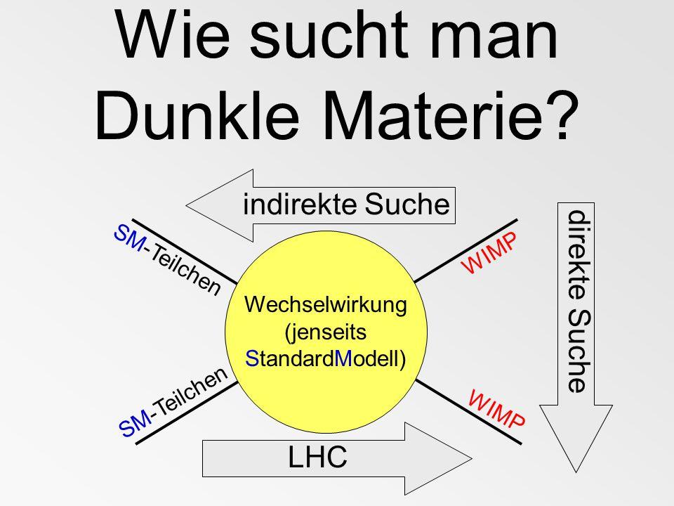1. WIMP-Suche am LHC (CERN)