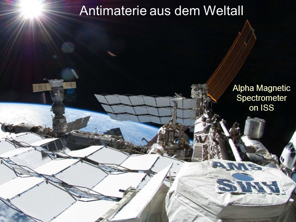 Antimaterie aus dem Weltall Alpha Magnetic Spectrometer on ISS