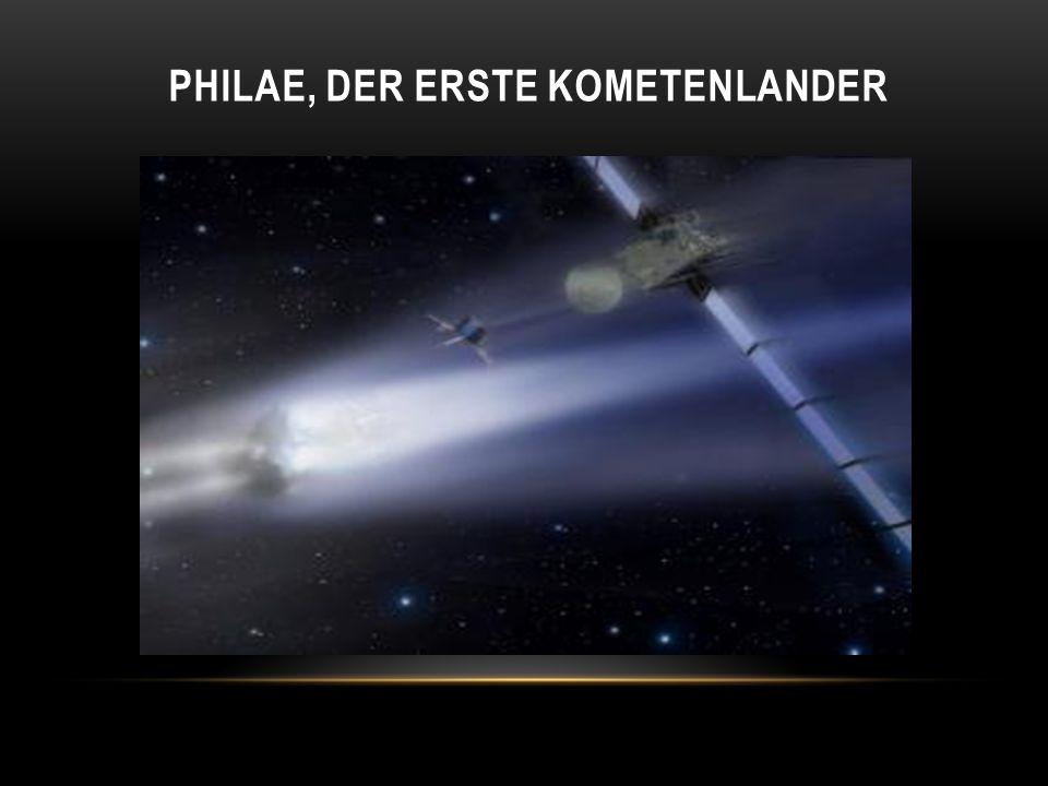 PHILAE, DER ERSTE KOMETENLANDER