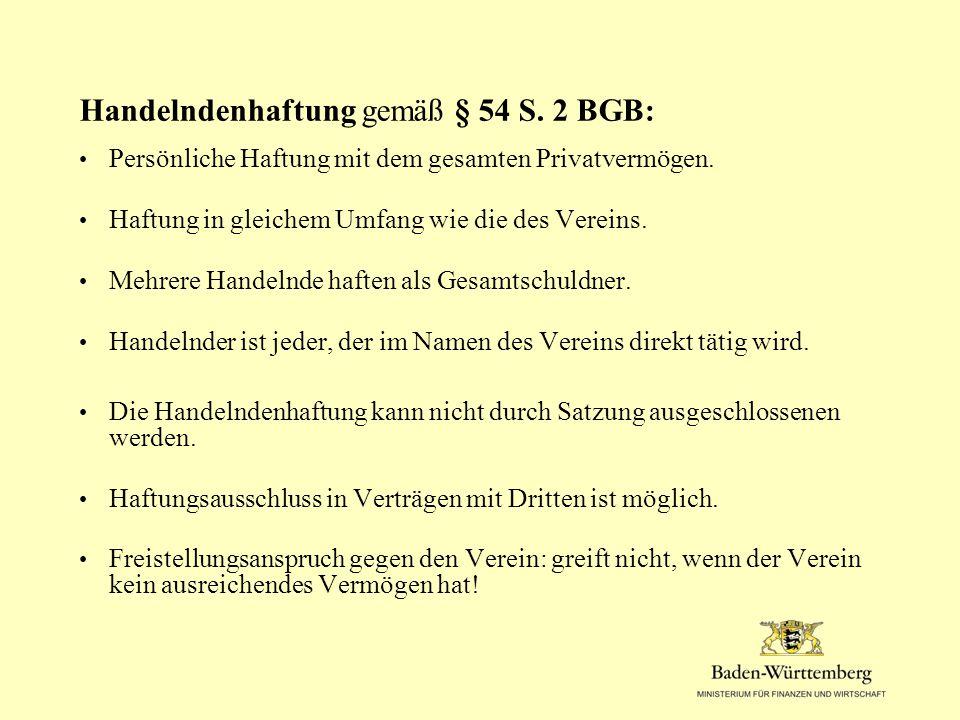 Mitgliederversammlung: Beschluss der Vereinssatzung.