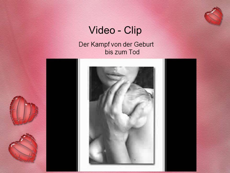 Video - Clip Der Kampf von der Geburt bis zum Tod