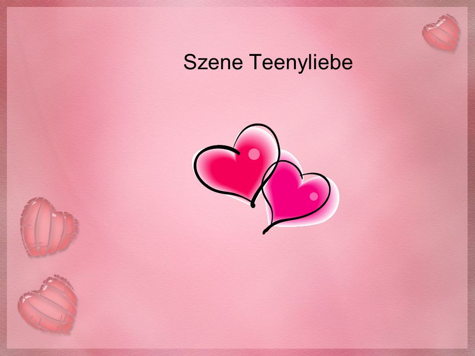 Szene Teenyliebe