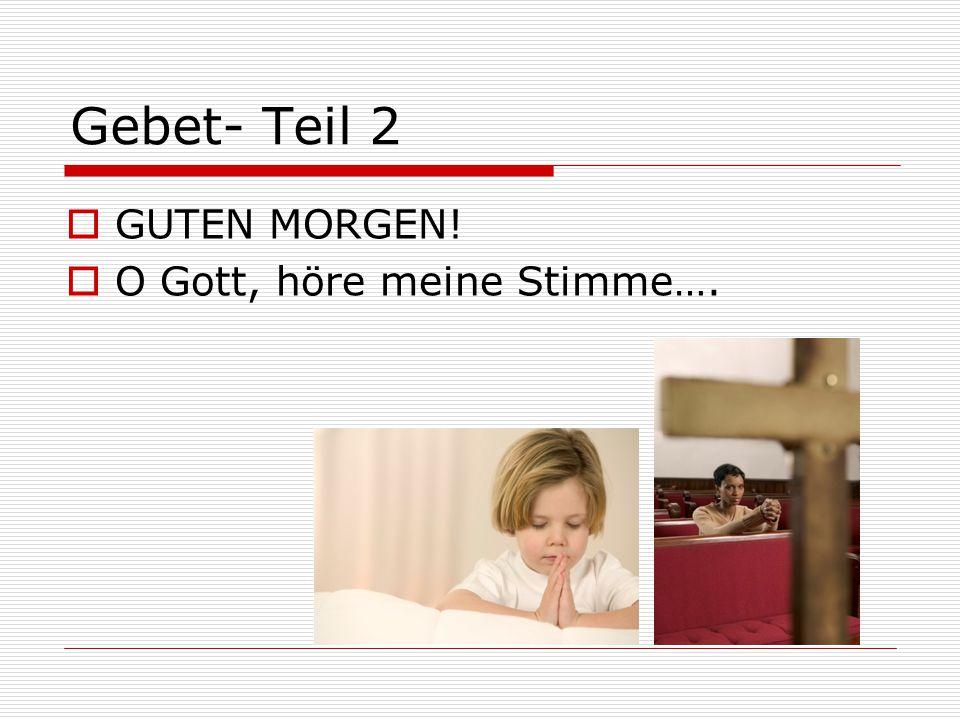 Bibelstelle Text/ Bausteine InhaltZentrale Wahrheit /Themenbereich Parallel- stellen Mein GebetBemerkungen