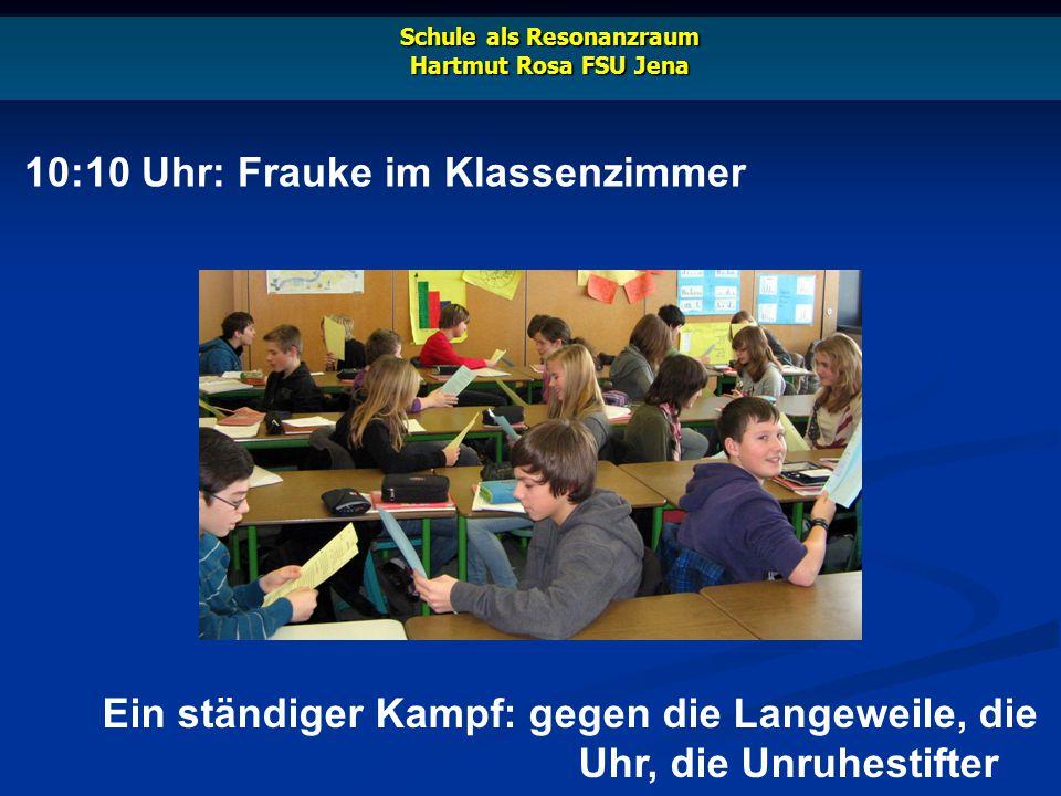 18:00 Uhr: Frauke beim Lehrervolleyball Schule als Resonanzraum Hartmut Rosa FSU Jena Ihr wird schon schlecht beim Geruch der Turnhalle