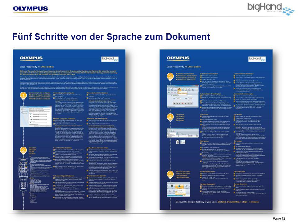 Fünf Schritte von der Sprache zum Dokument Page 12