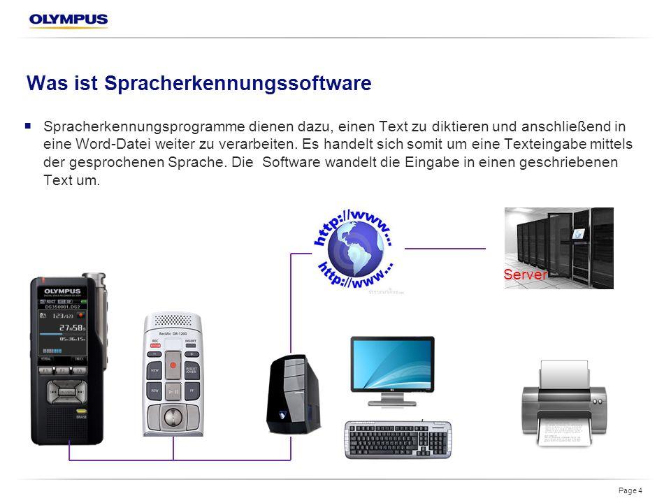 Was ist Spracherkennungssoftware  Spracherkennungsprogramme dienen dazu, einen Text zu diktieren und anschließend in eine Word-Datei weiter zu verarbeiten.
