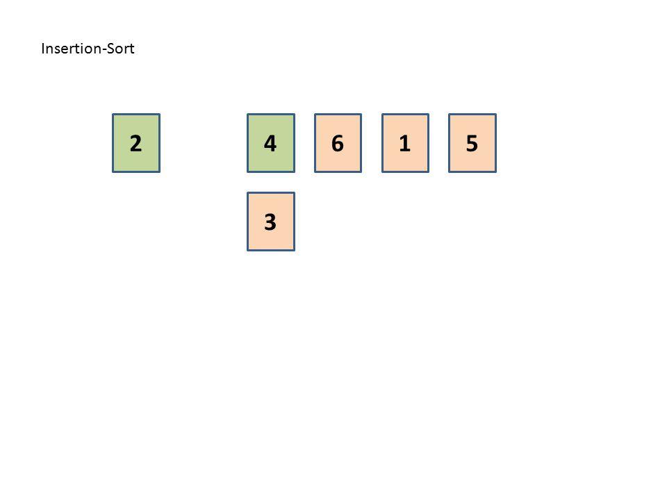 Insertion-Sort 1 3 4562
