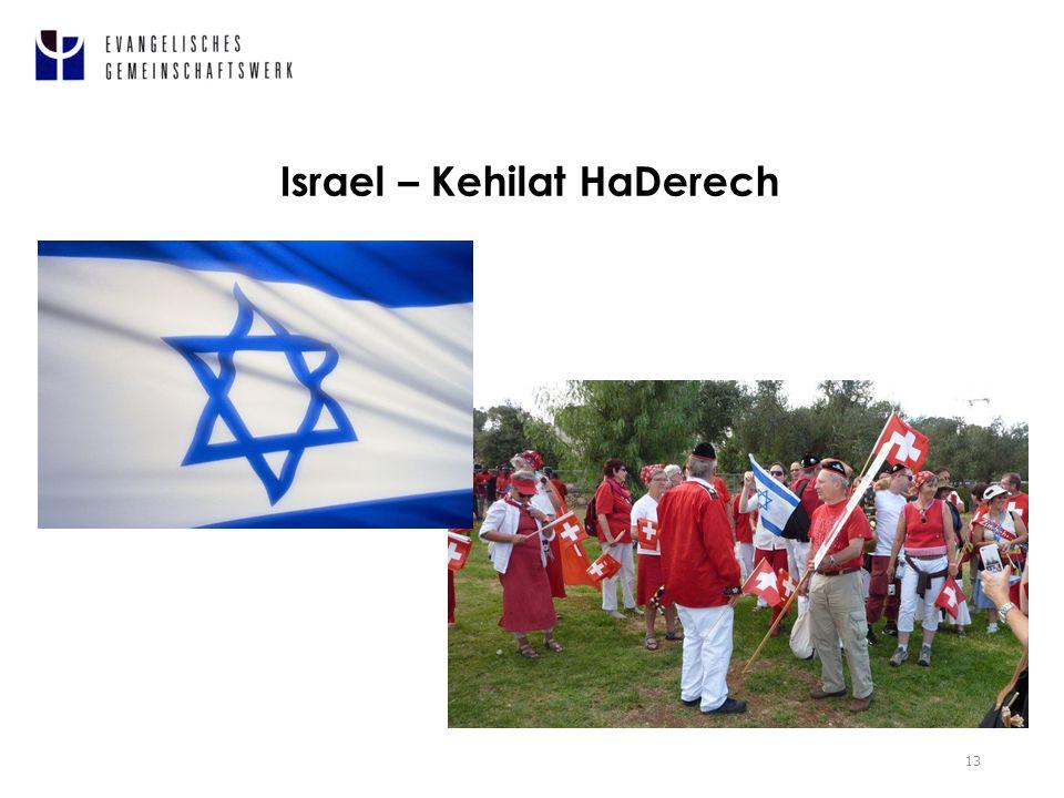 Israel – Kehilat HaDerech 13