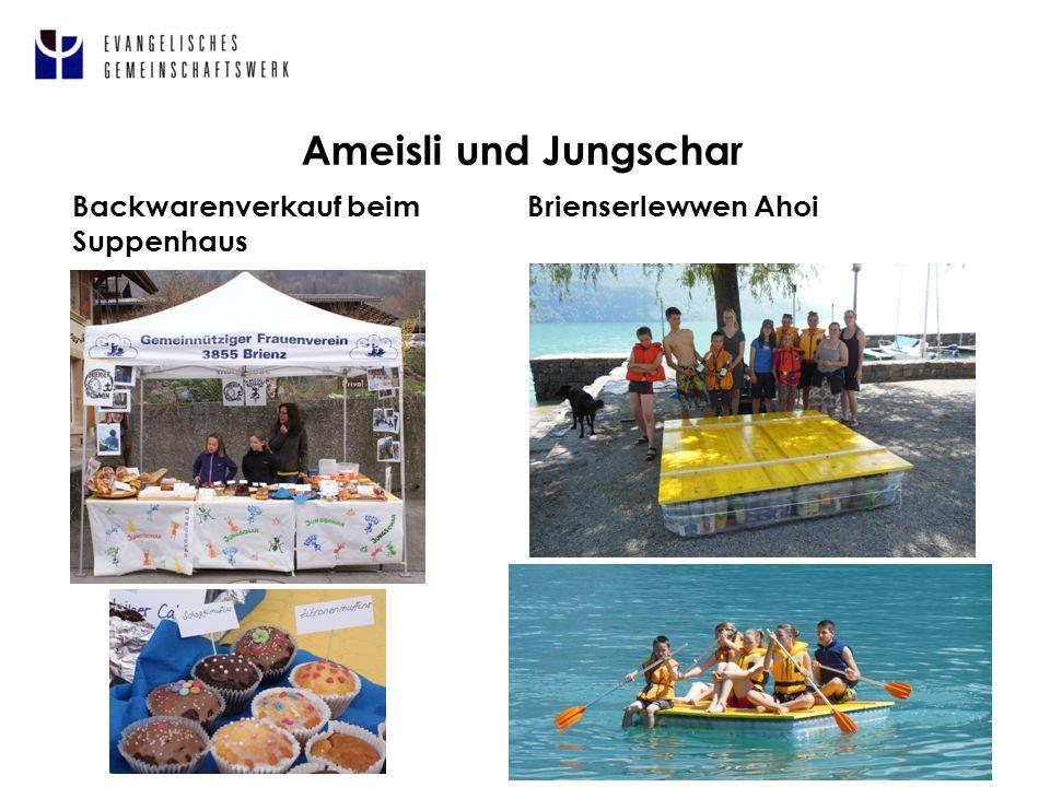 Ameisli und Jungschar 5 Backwarenverkauf beim Suppenhaus Brienserlewwen Ahoi
