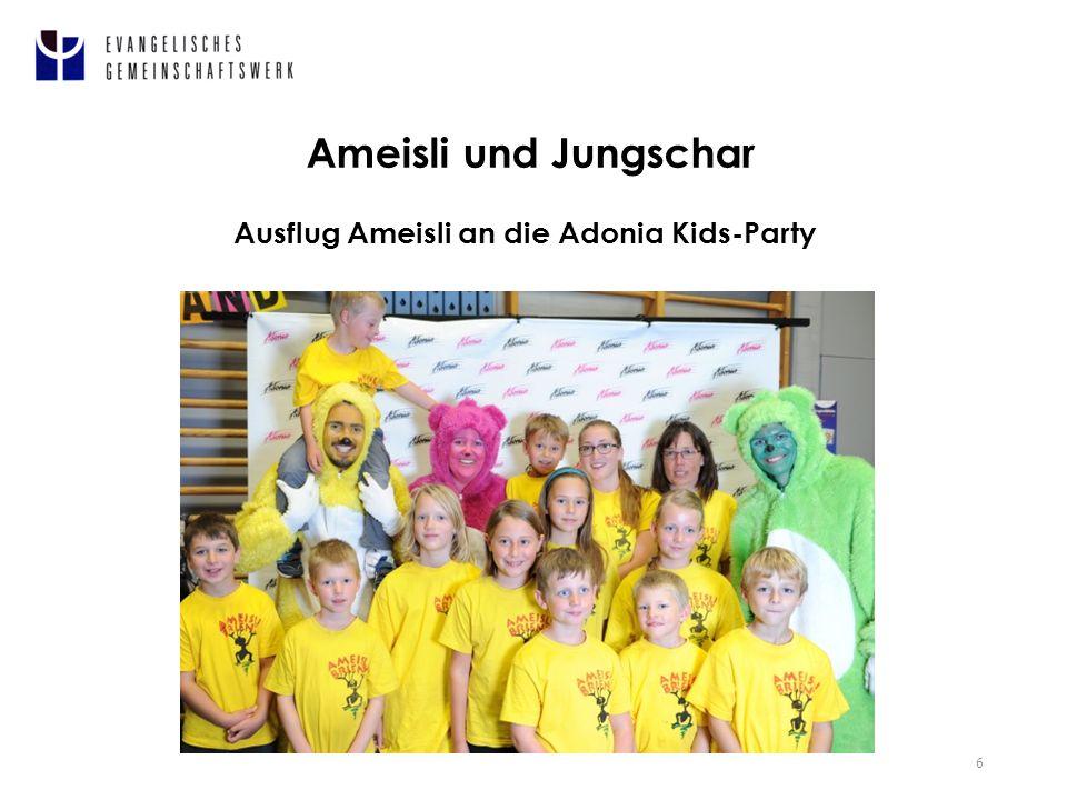 6 Ameisli und Jungschar Ausflug Ameisli an die Adonia Kids-Party