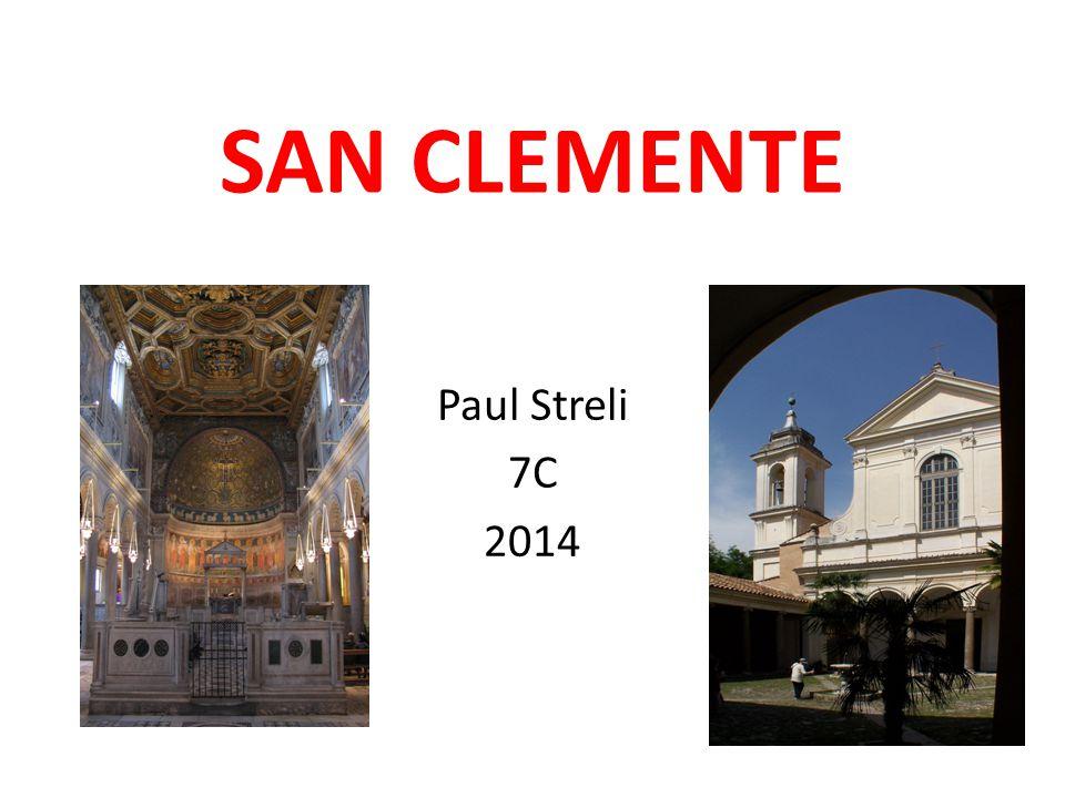 SAN CLEMENTE Paul Streli 7C 2014