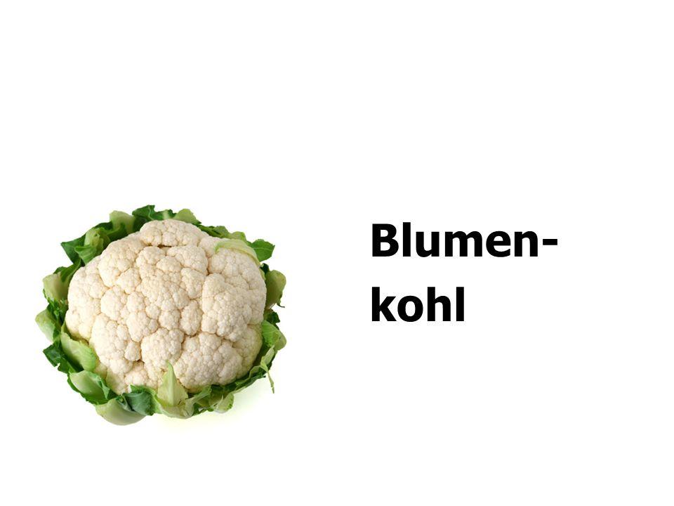 Blumen- kohl