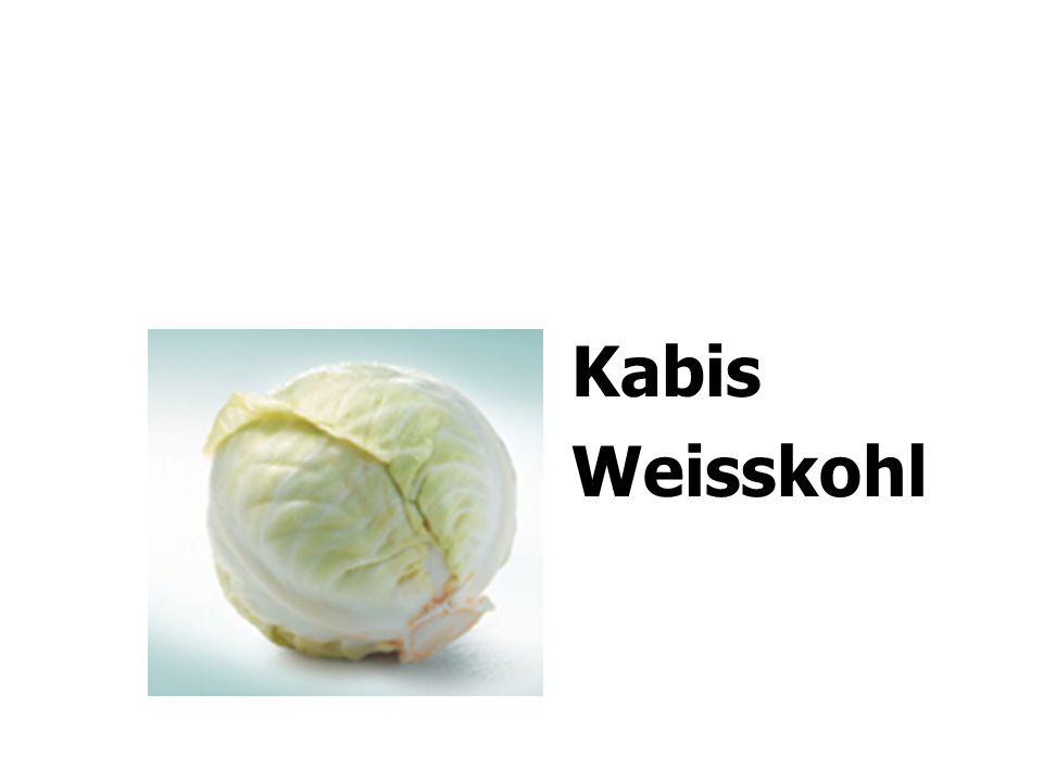 Kabis Weisskohl