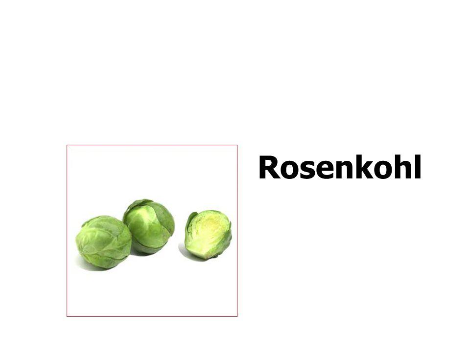 Rosenkohl