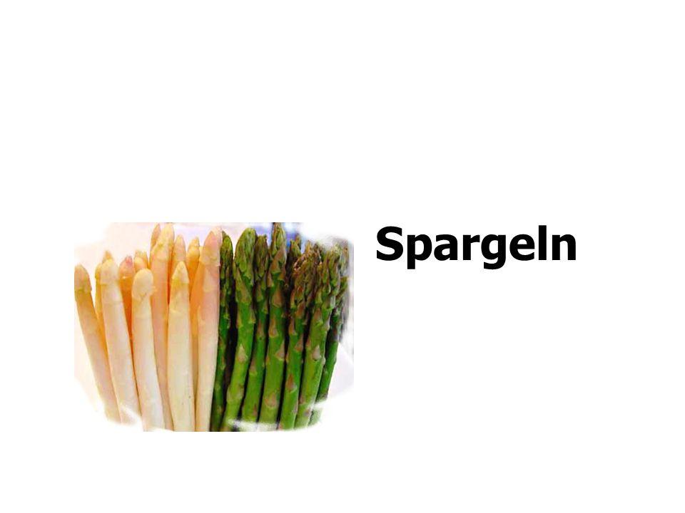 Spargeln