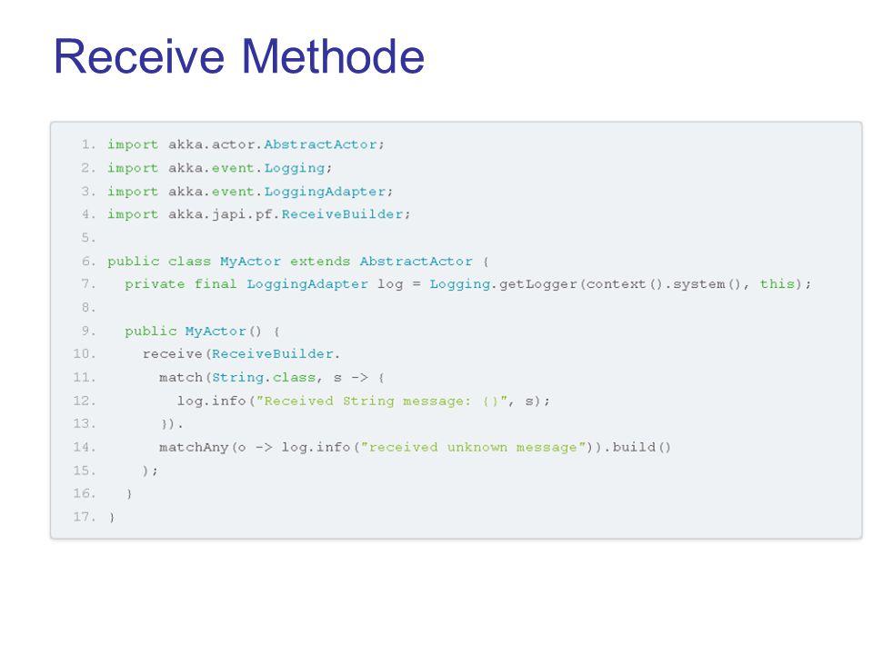 Das Modell Business-Logik in package model festlegen Playframework ist zustandslos Persistente Datenhanltung über –Datenbank –Cache (möglicher Datenverlust) –Flash/Session Scrope (via Cookies, daher nur Strings und max 4KB)