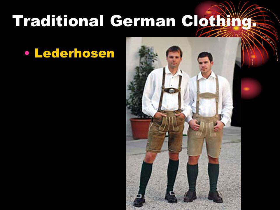 Traditional German Clothing. Dirndl