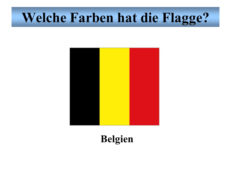 Welche Farben hat die Flagge? Guinea