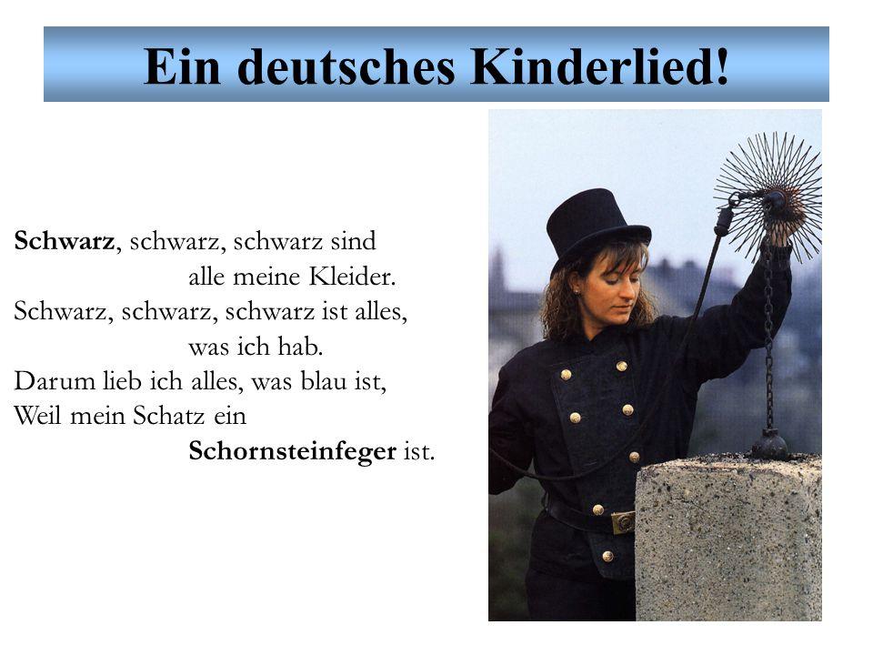 Ein deutsches Kinderlied! Weiß, weiß, weiß sind alle meine Kleider. Weiß, weiß, weiß ist alles, was ich hab. Darum lieb ich alles, was weiß ist, Weil