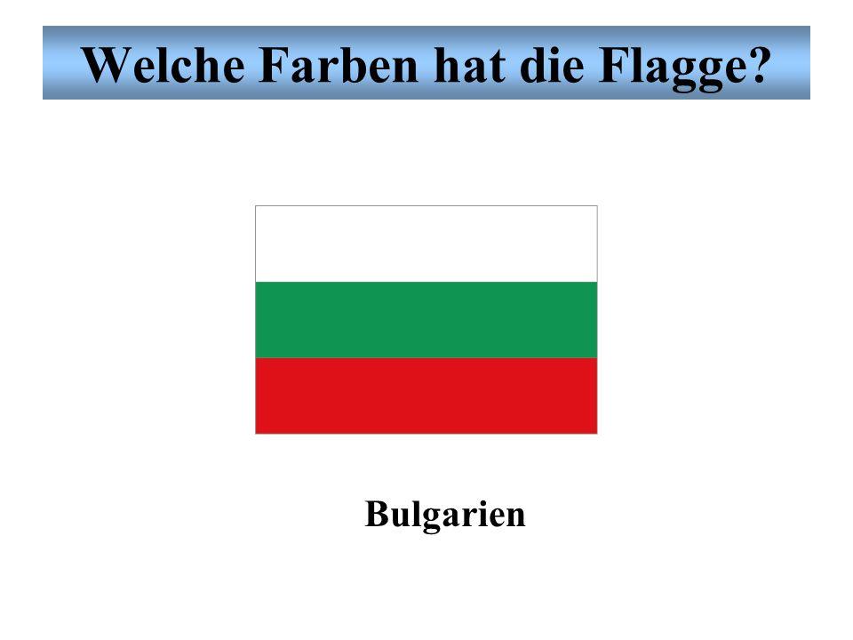Welche Farben hat die Flagge? Belgien