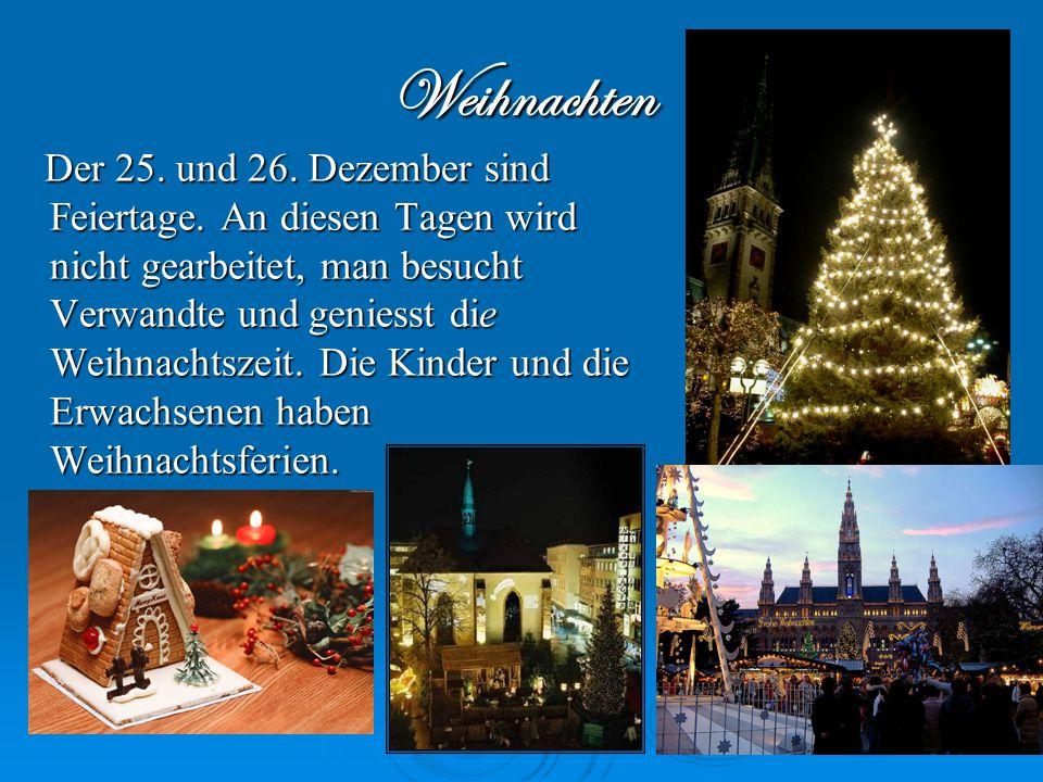 """Weihnacht heißt eigentlich """"Heilige Nacht"""". Gemeint ist die Nacht vom 24 auf den 25 Dezember. Mit dieser Heiligen Nacht wird """"alle Jahre wieder"""" das G"""