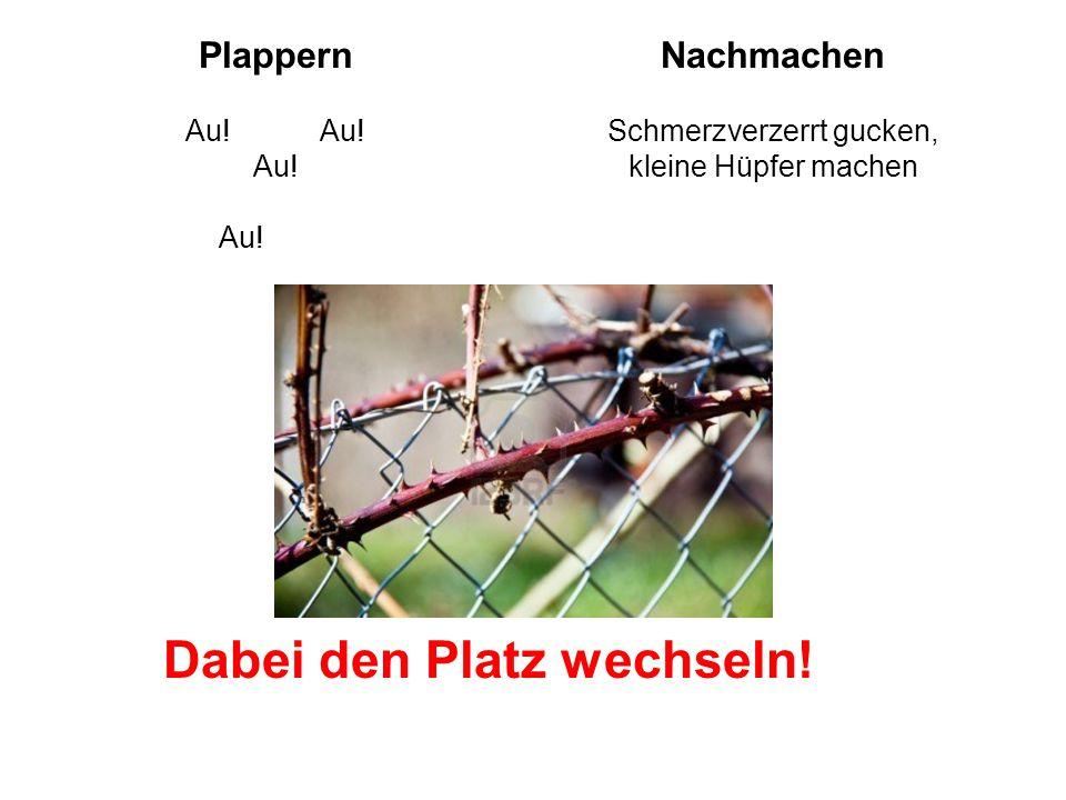 PlappernNachmachen Au.Au. Au. Au.