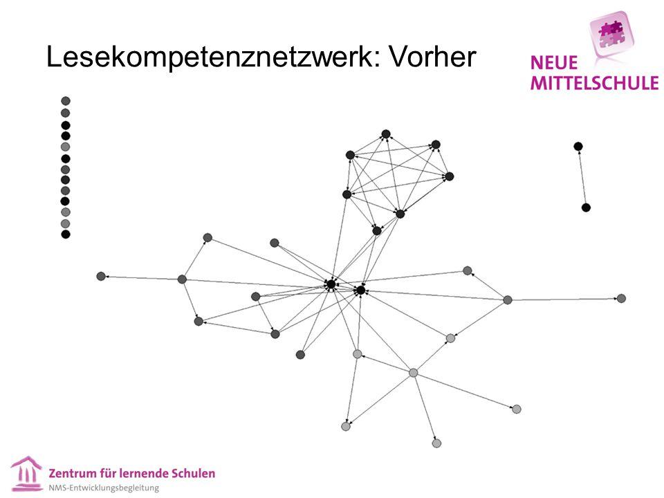 Lesekompetenznetzwerk: Nachher