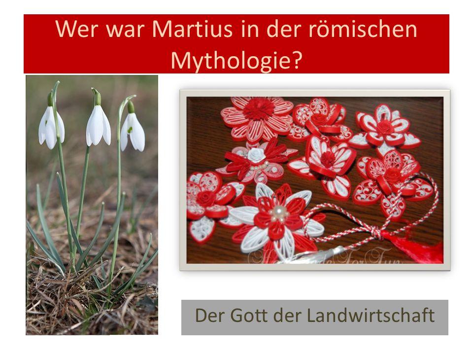 Wer war Martius in der römischen Mythologie? Der Gott der Landwirtschaft