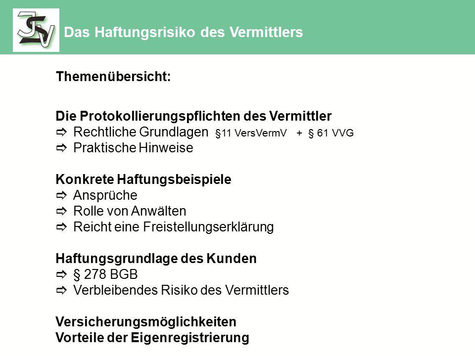 Die gängigen Anbieter zur Vermögensschaden-Haftpflichtversicherung Rahmenvertrag VVA oder Einzelvertrag Rahmenvertrag nur für BVK-Mitglieder Rahmenvertrag für VVA - Südwest Rahmenvertrag über Mitgliedschaft ISV Vertretervereinigung selbständiger Versicherungskaufleute e.V.
