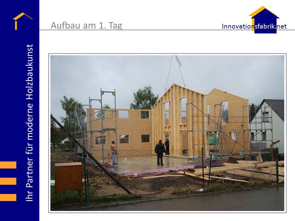 Ihr Partner für moderne Holzbaukunst Innovationsfabrik.net Dienstleistungsspektrum  Ausführung von schlüsselfertigen Gebäuden in Holzrahmenbauweise als Projektleitung bzw.