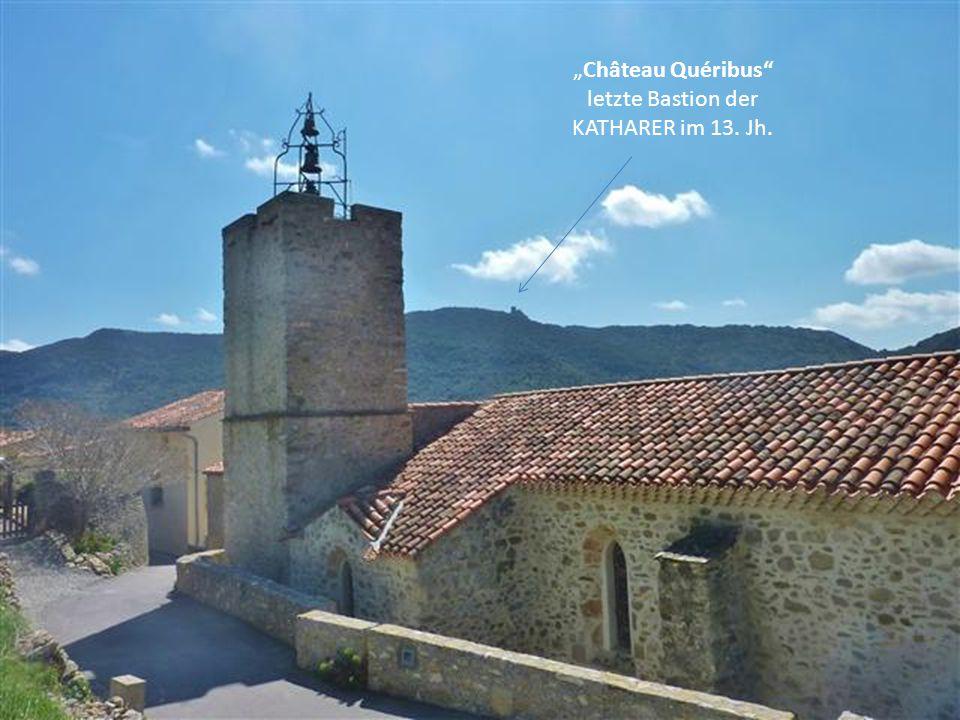 """""""Château Quéribus letzte Bastion der KATHARER im 13. Jh."""