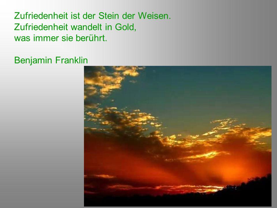 Es ist eine Verwandtschaft zwischen den glücklichen Gedanken und den Gaben des Augenblicks : Beide fallen vom Himmel.