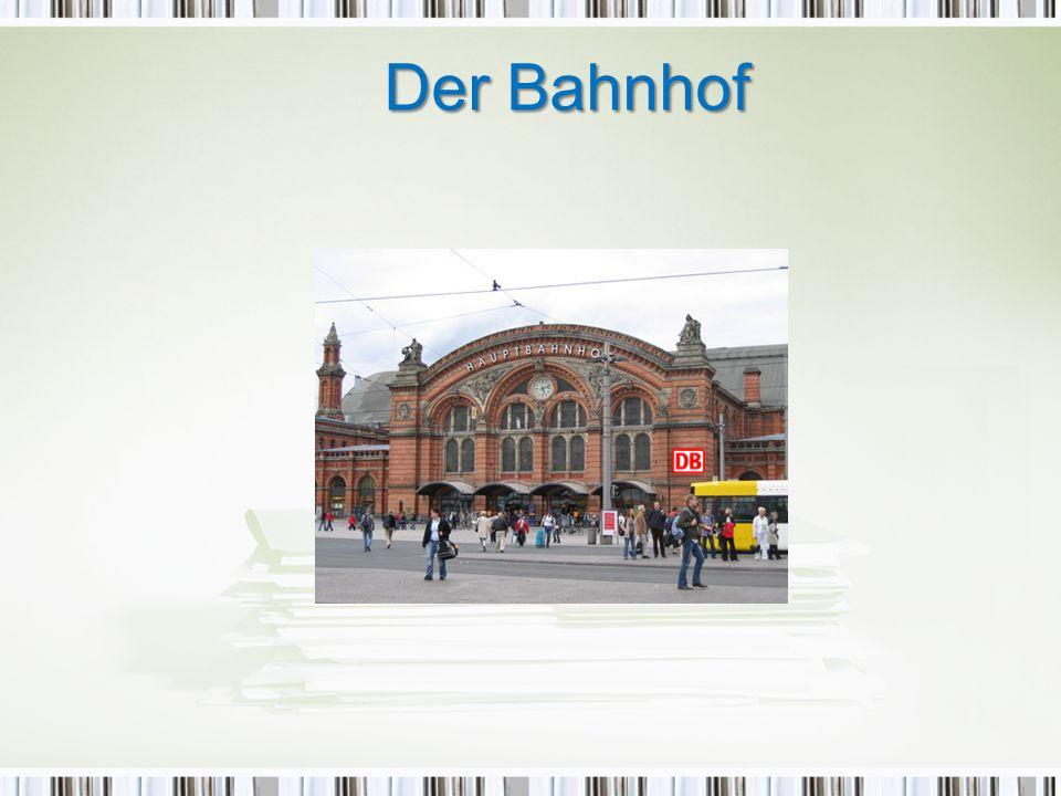 Bilan grammatical: 1) Comment demander son chemin: Wie komme ich zum Bahnhof.