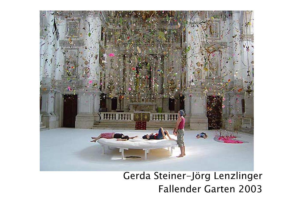Gerda Steiner-Jörg Lenzlinger Fallender Garten 2003
