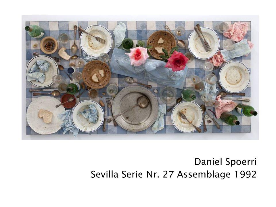 Daniel Spoerri Sevilla Serie Nr. 27 Assemblage 1992