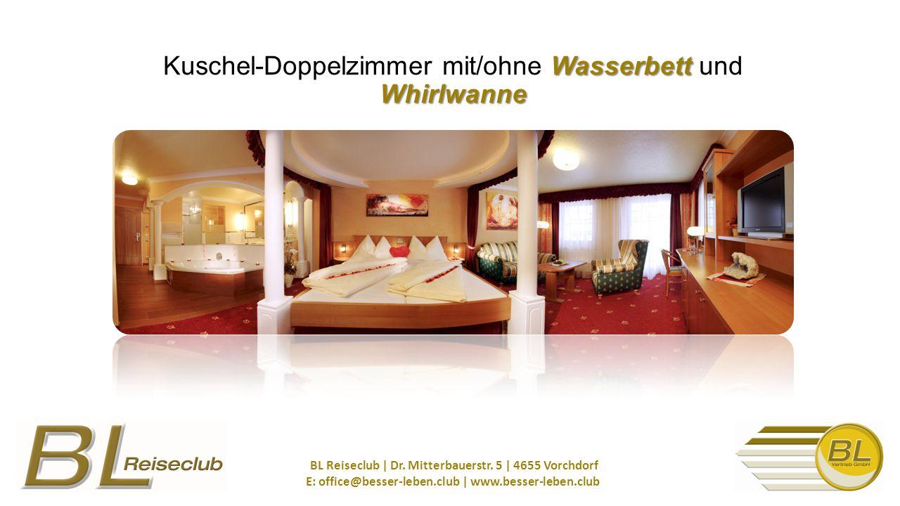 Wasserbett Whirlwanne Kuschel-Doppelzimmer mit/ohne Wasserbett und Whirlwanne BL Reiseclub | Dr.