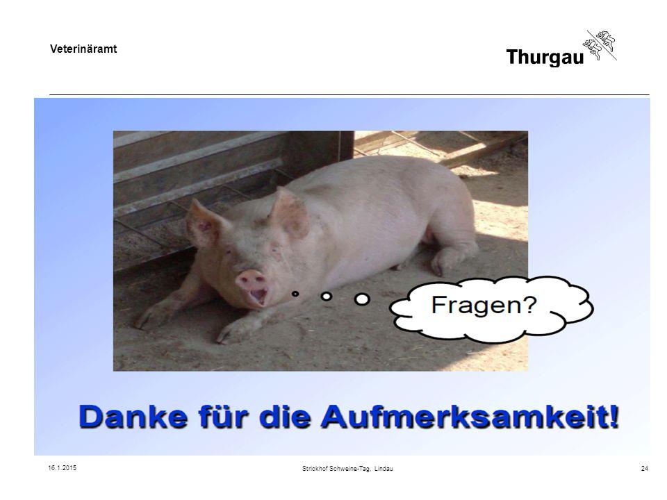 Veterinäramt Strickhof Schweine-Tag, Lindau24 16.1.2015