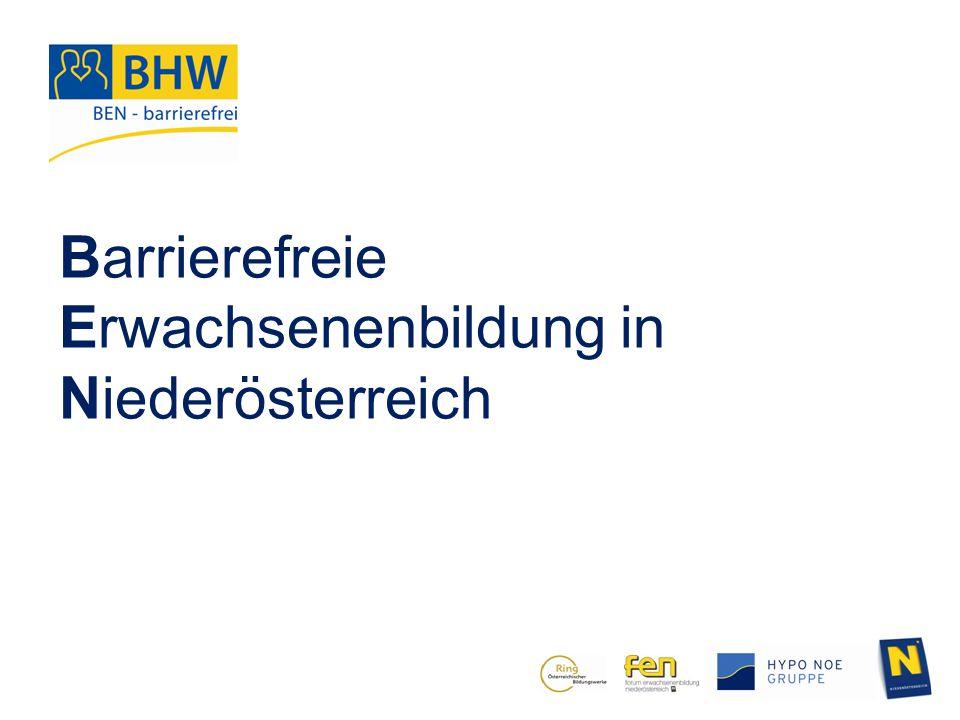 Barrierefreie Erwachsenenbildung in Niederösterreich Dorfbegehung barrierefrei.