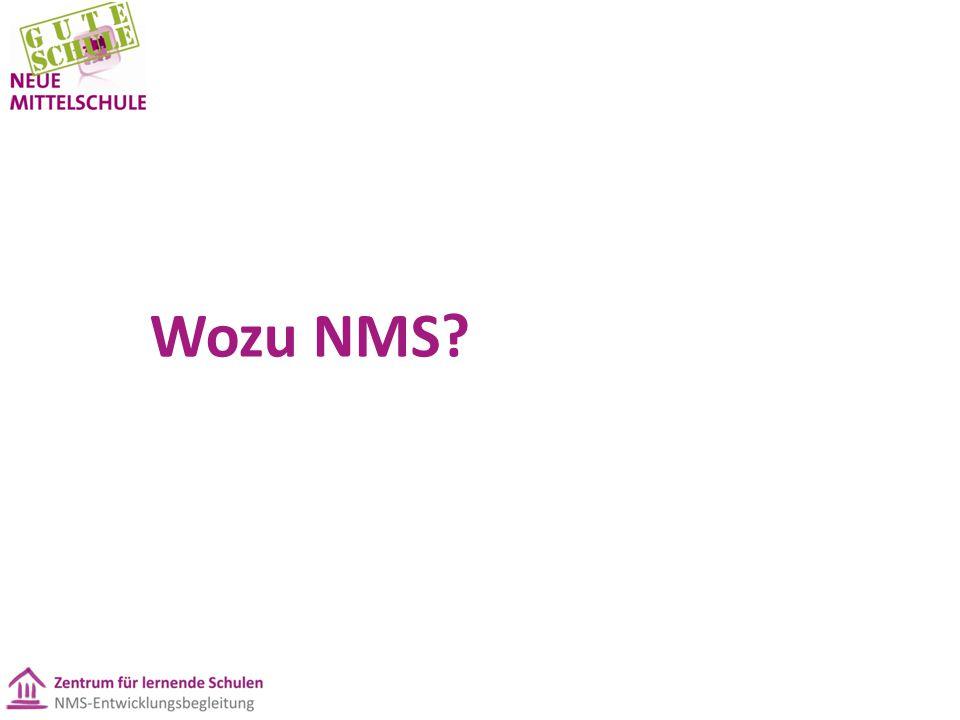 Wozu NMS?