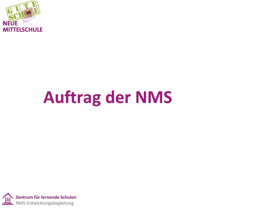 Auftrag der NMS