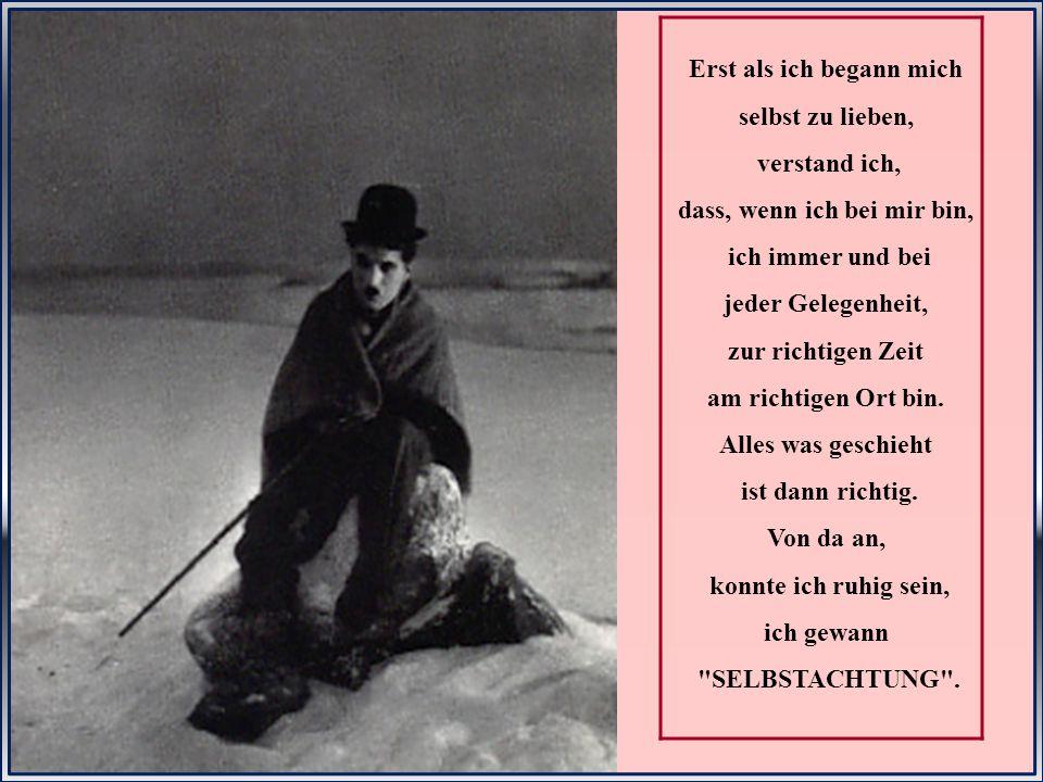 Diese Worte schrieb Charlie Chaplin an seinem 70. Geburtstag am 16. April 1959..