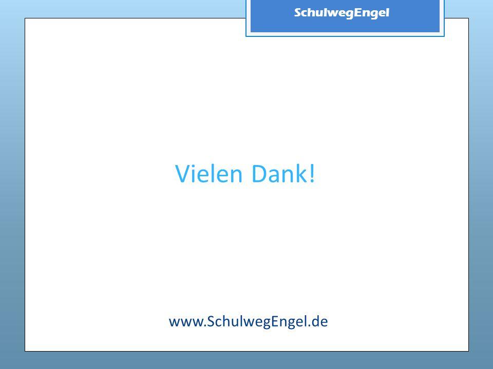 SchulwegEngel Vielen Dank! www.SchulwegEngel.de