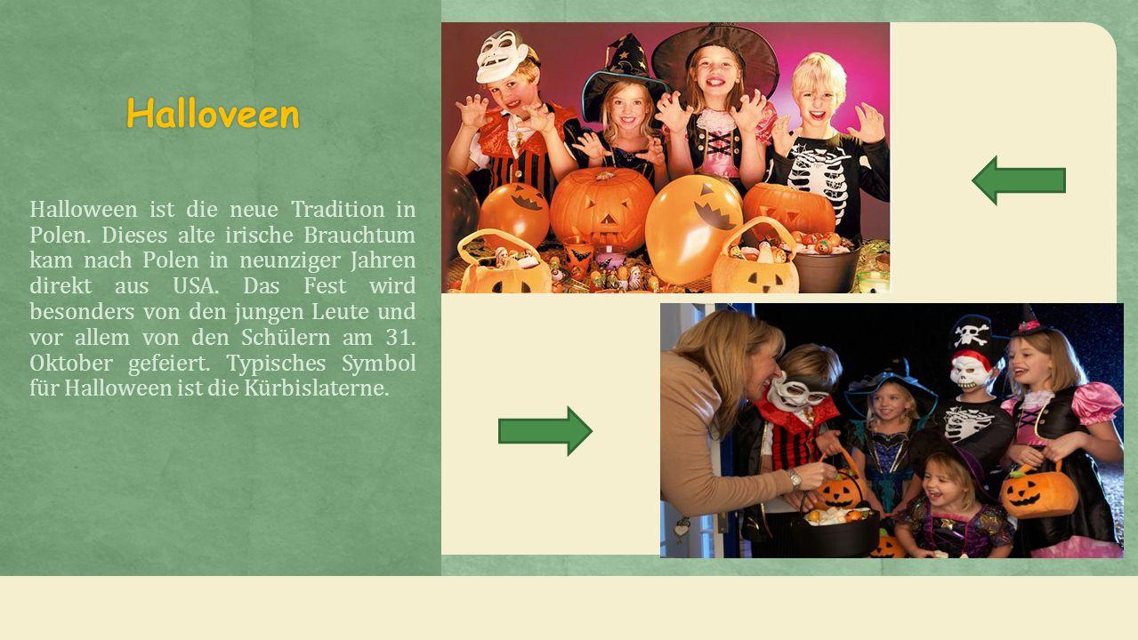 Halloveen Halloween ist die neue Tradition in Polen.