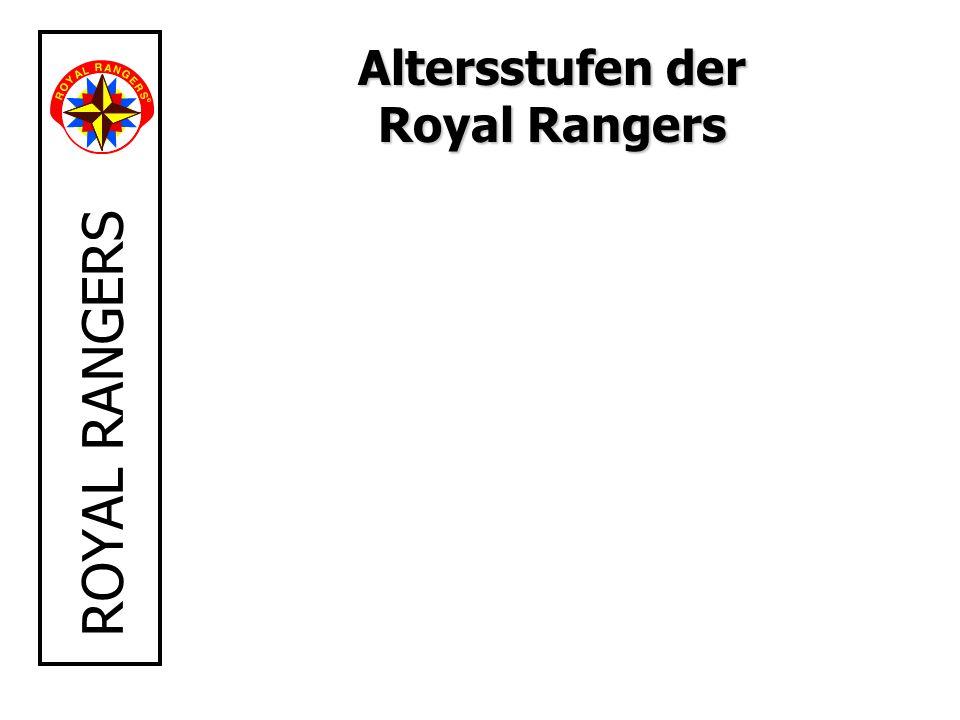 ROYAL RANGERS Altersstufen der Royal Rangers