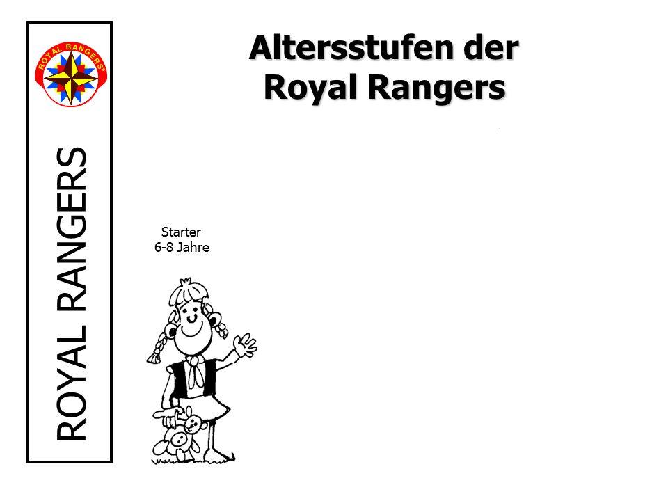 ROYAL RANGERS Starter 6-8 Jahre Altersstufen der Royal Rangers