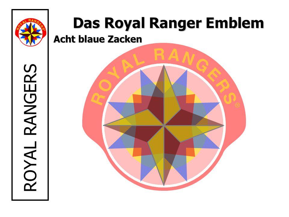 ROYAL RANGERS Das Royal Ranger Emblem Acht blaue Zacken