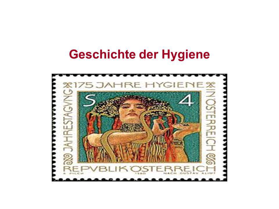 Geschichte der Hygiene