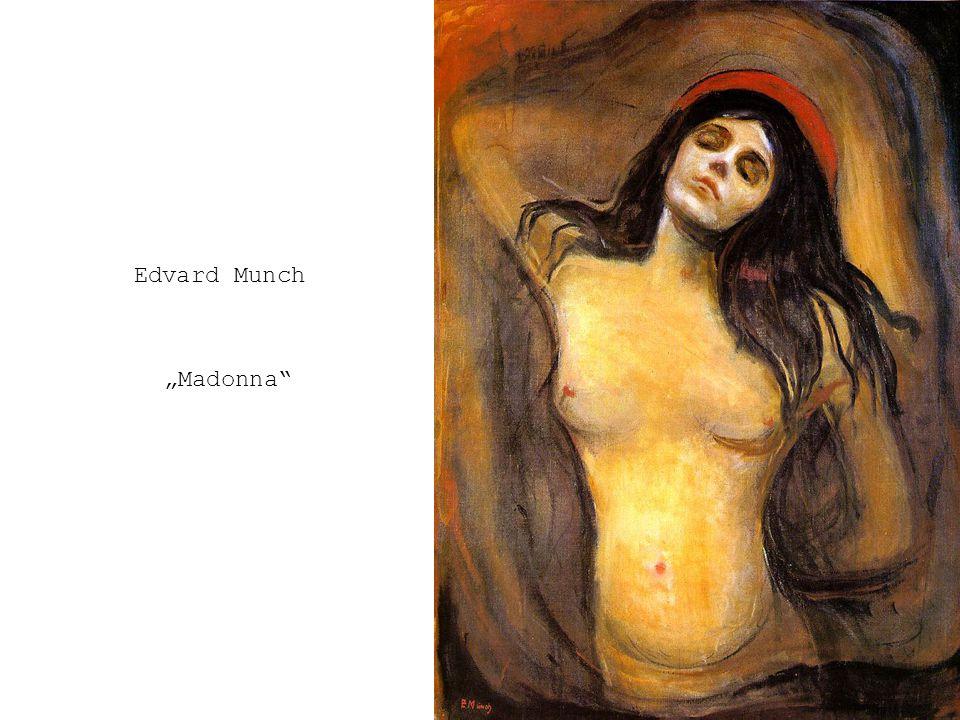 "Edvard Munch ""Madonna"
